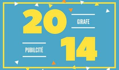 Publicité Girafe