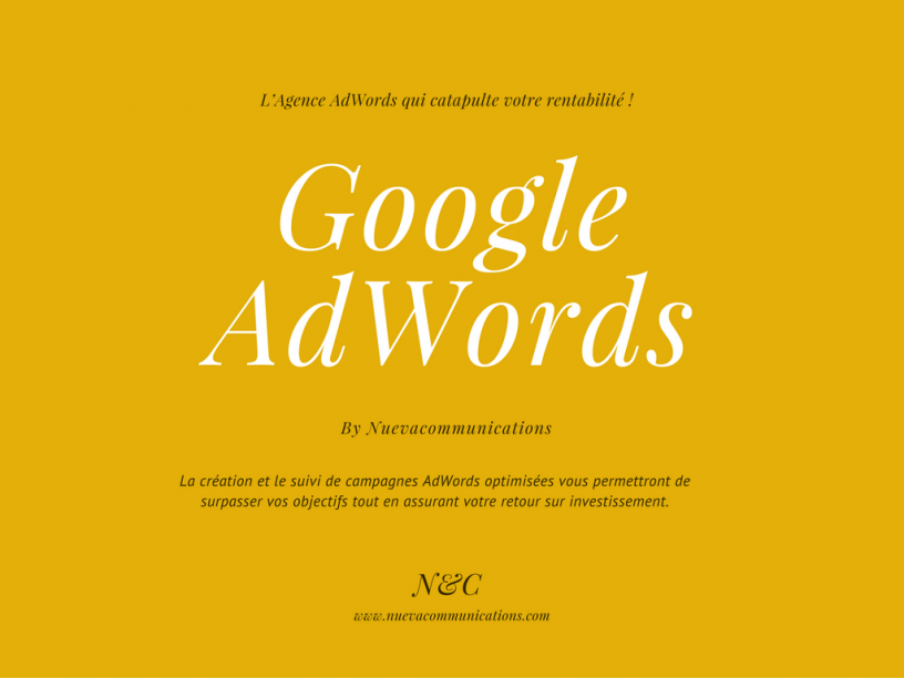 Google adwords montreal - optimiser son site web