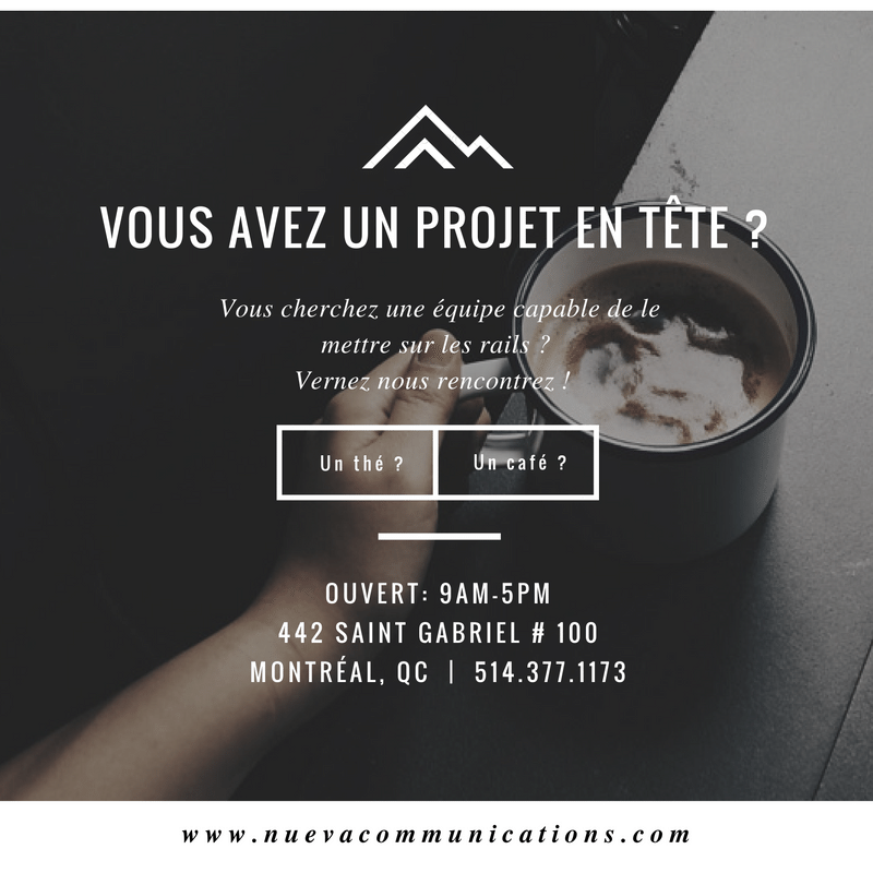 application mobile agence montreal